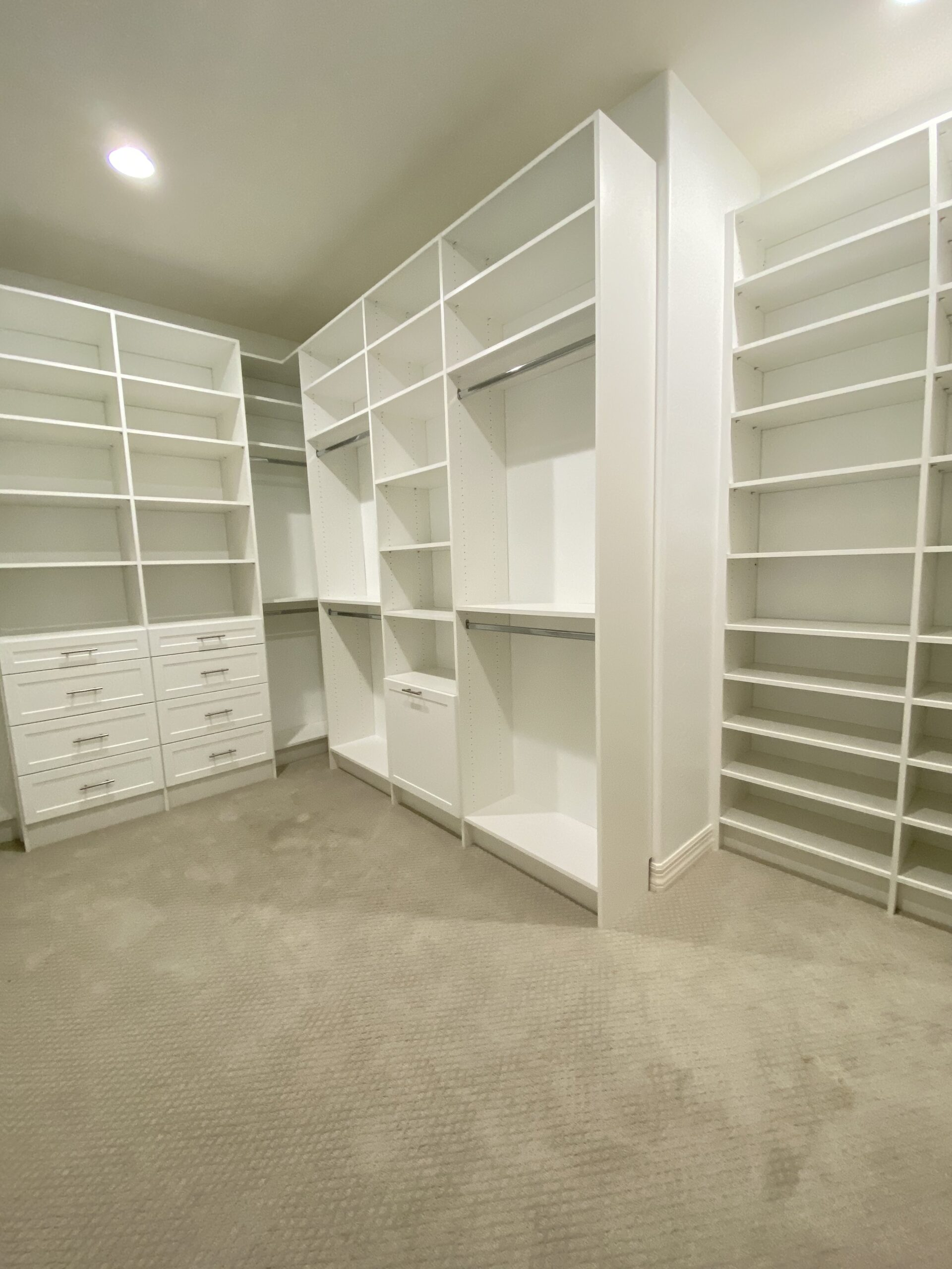 Learn how to save on a custom closet