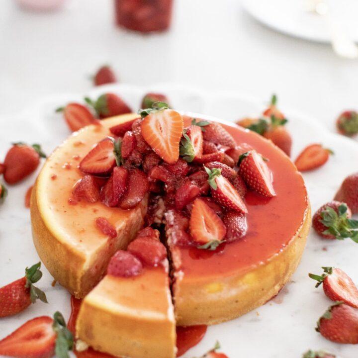 Amazing Strawberry Cheesecake