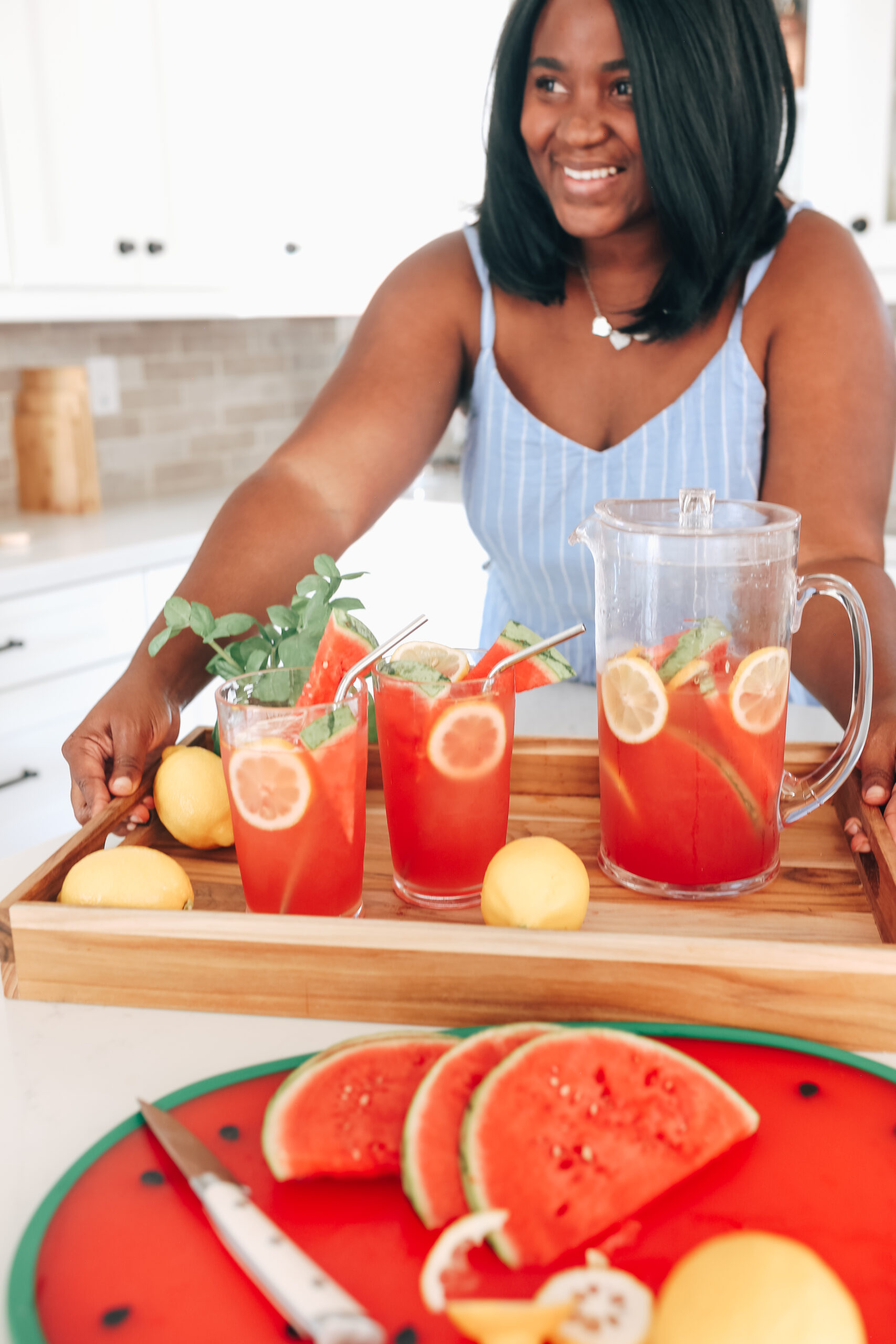 How to Make Refreshing Watermelon Lemonade