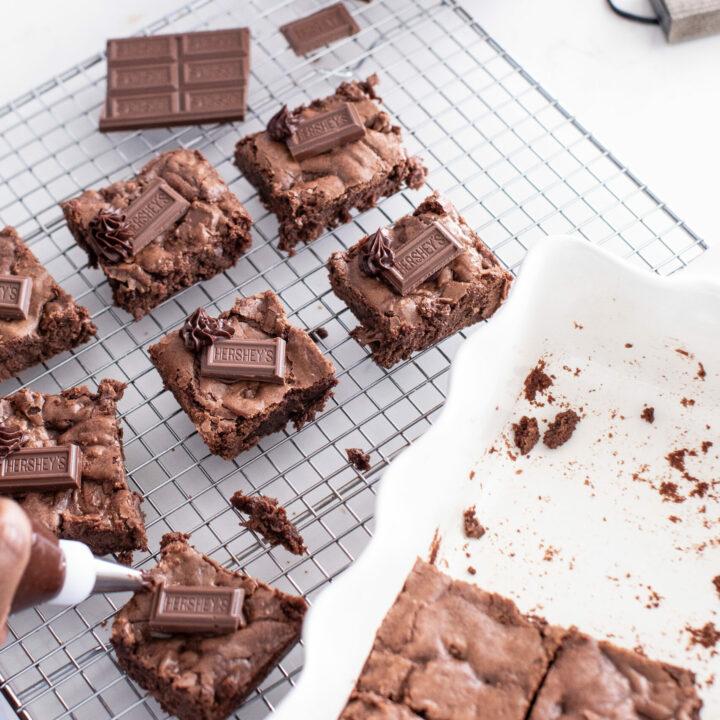 HERSHEY'S Chocolate Lover's Brownie Recipe