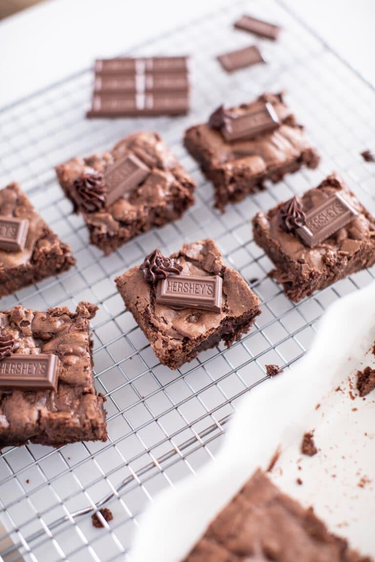 HERSHEY'S Chocolate Lovers Brownie Recipe