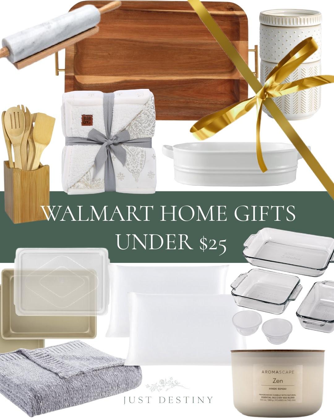 Walmart Home Gifts Under $25
