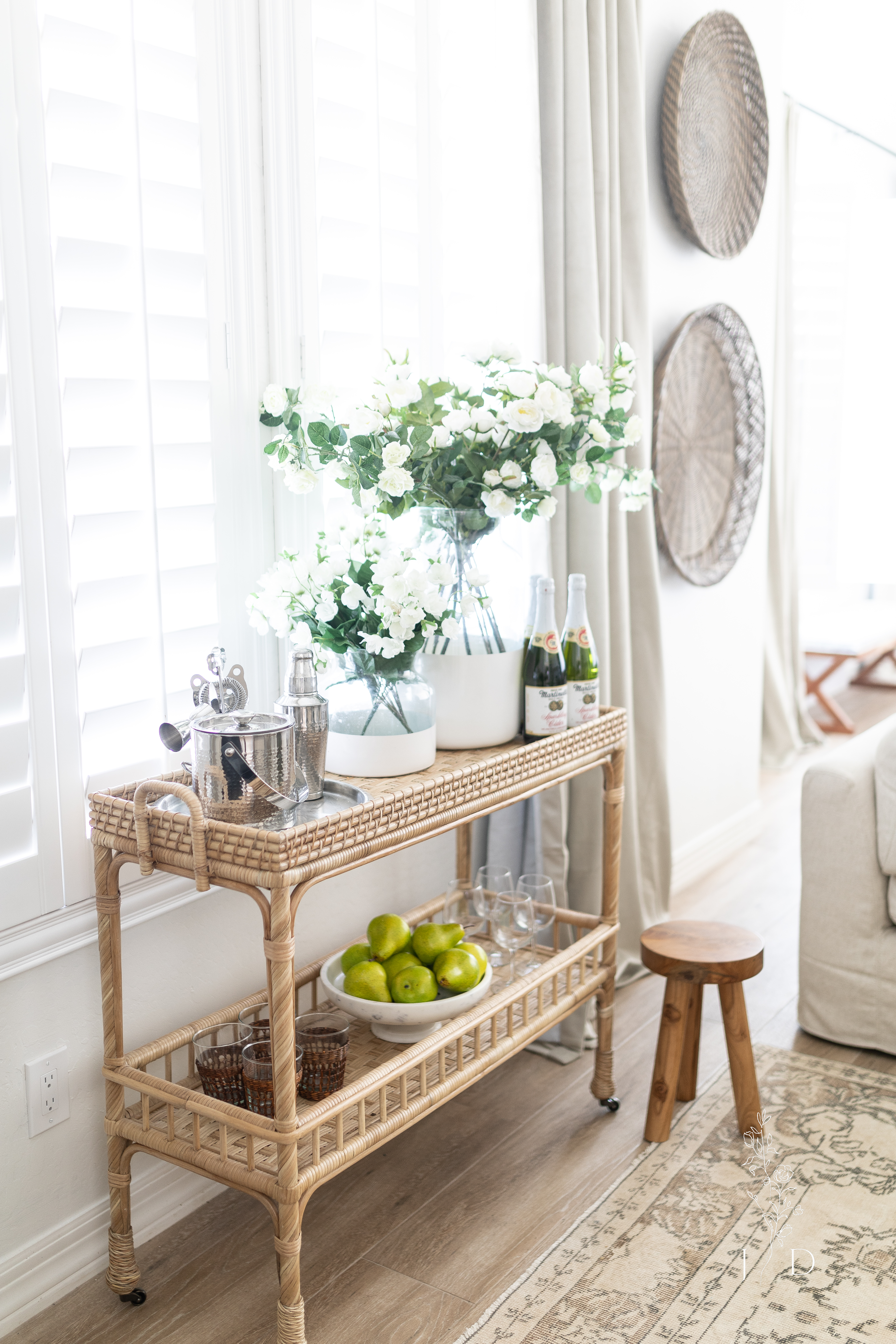 South Seas Bar Cart. One of Serena and Lily best products.
